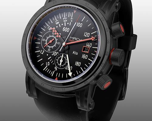 MACH WATCH   Concorde Black Edition