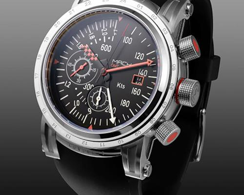 MACH WATCH Concorde Silver Edition