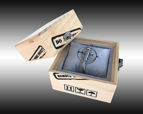 COFFRET MACH 2 SILVER - Mach 2 Wristband Silver and box