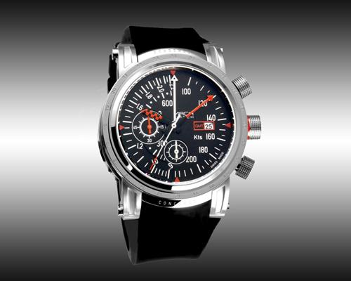 Mach Watch Concorde modèle Airspeed  Silver  Edition