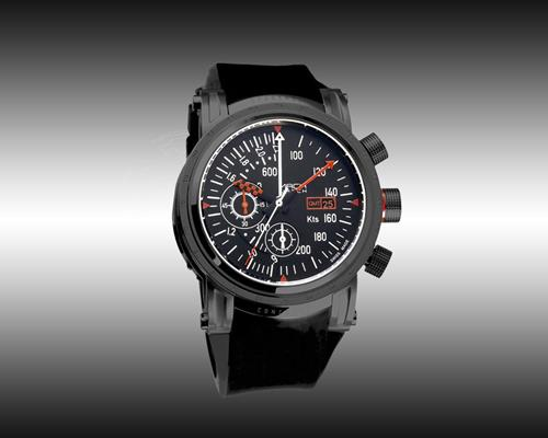 Mach Watch Concorde modèle Airspeed  Black  Edition