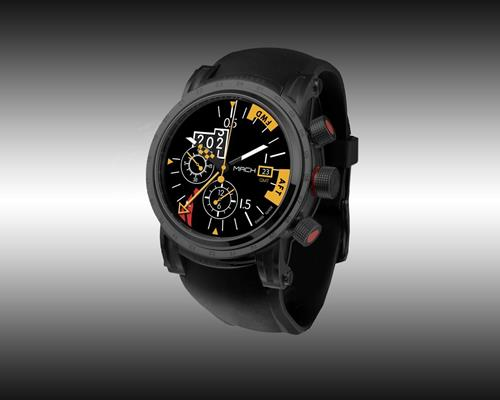 Mach Watch Concorde modèle Machmeter Black Edition