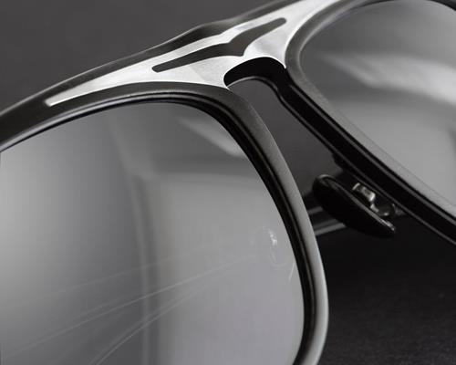 AERO-DESIGN BY GOLD & WOOD - Supersonic model, Black Silver Mirror Edition